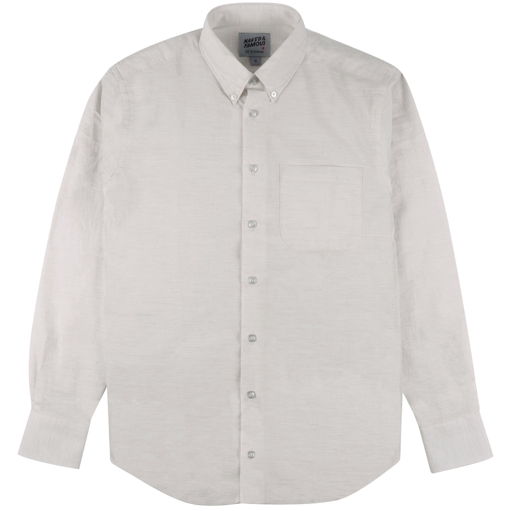 Easy Shirt - Heather Gauze - Pale Grey