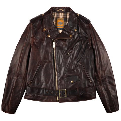 SCHOTT - 619 - Hand Oiled Lightweight Naked Perfecto Motorcycle Jacket