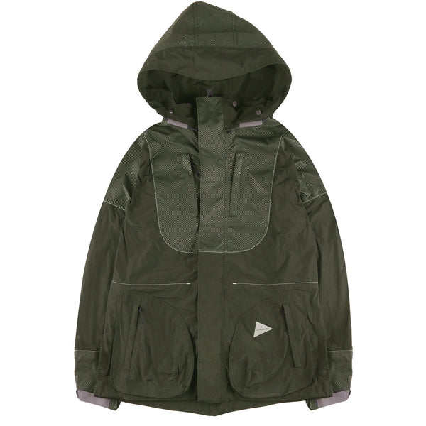 AWFT040K - Water Repellent Jacket - Khaki