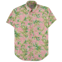 Short Sleeve Easy Shirt - Big Tropical - Pink