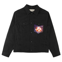 Denim Jacket - Ghostbusters Club Jacket - front