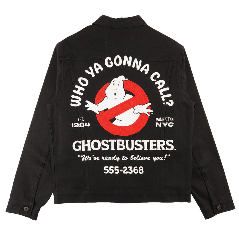 Denim Jacket - Ghostbusters Commercial Chainstitch - back