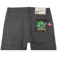 Weird Guy - Ghostbusters Slimer Glow In The Dark Denim - back