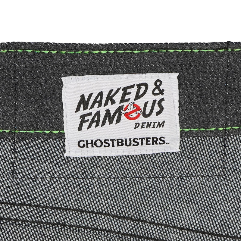 Super Guy - Ghostbusters Slimer Glow In The Dark Denim - tag
