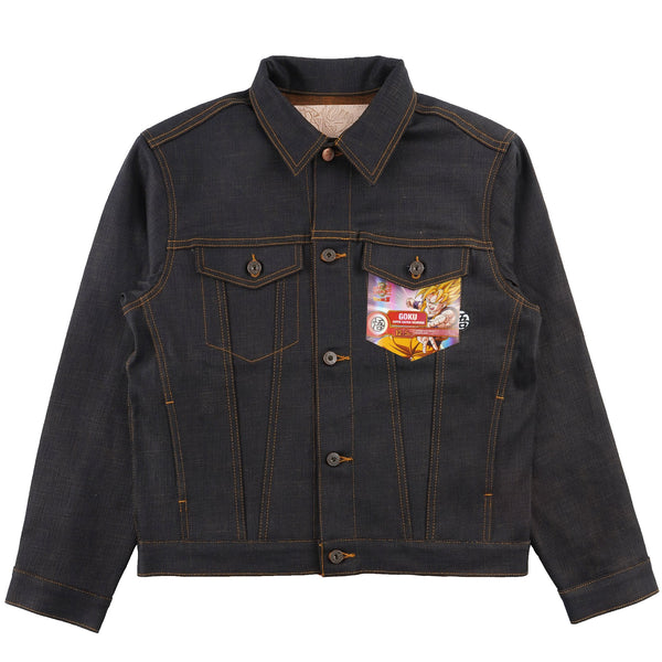 Denim Jacket - Goku Super Saiyan Selvedge