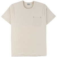 Burgus Plus - S/S Pocket Tee - Natural - front