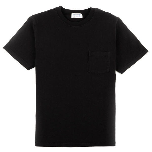 Heavy Oz Pocket Tee - Black