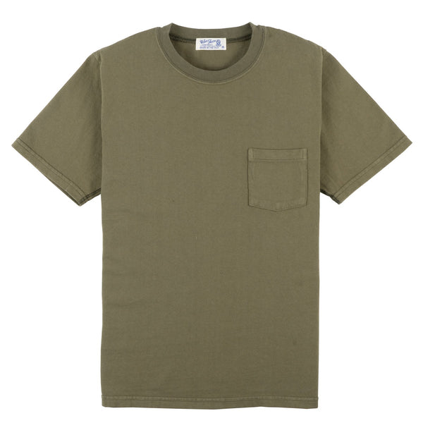 Heavy Oz Pocket Tee - Leaf