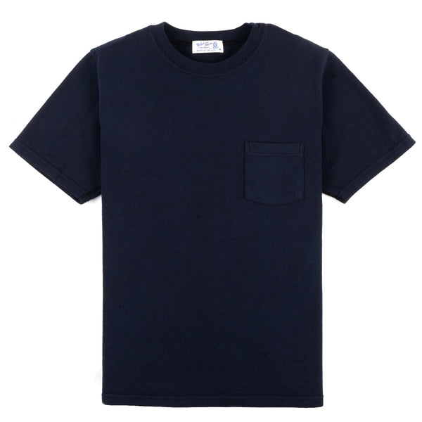 Heavy Oz Pocket Tee - Navy