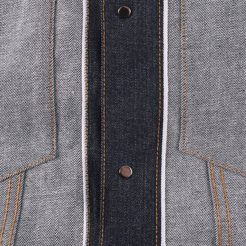 Left Hand Twill Selvedge - inside