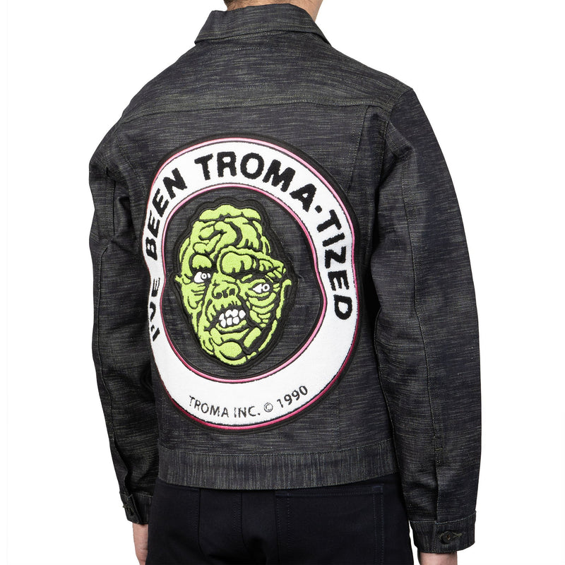 Club Denim Jacket - Toxic Avenger - back shot