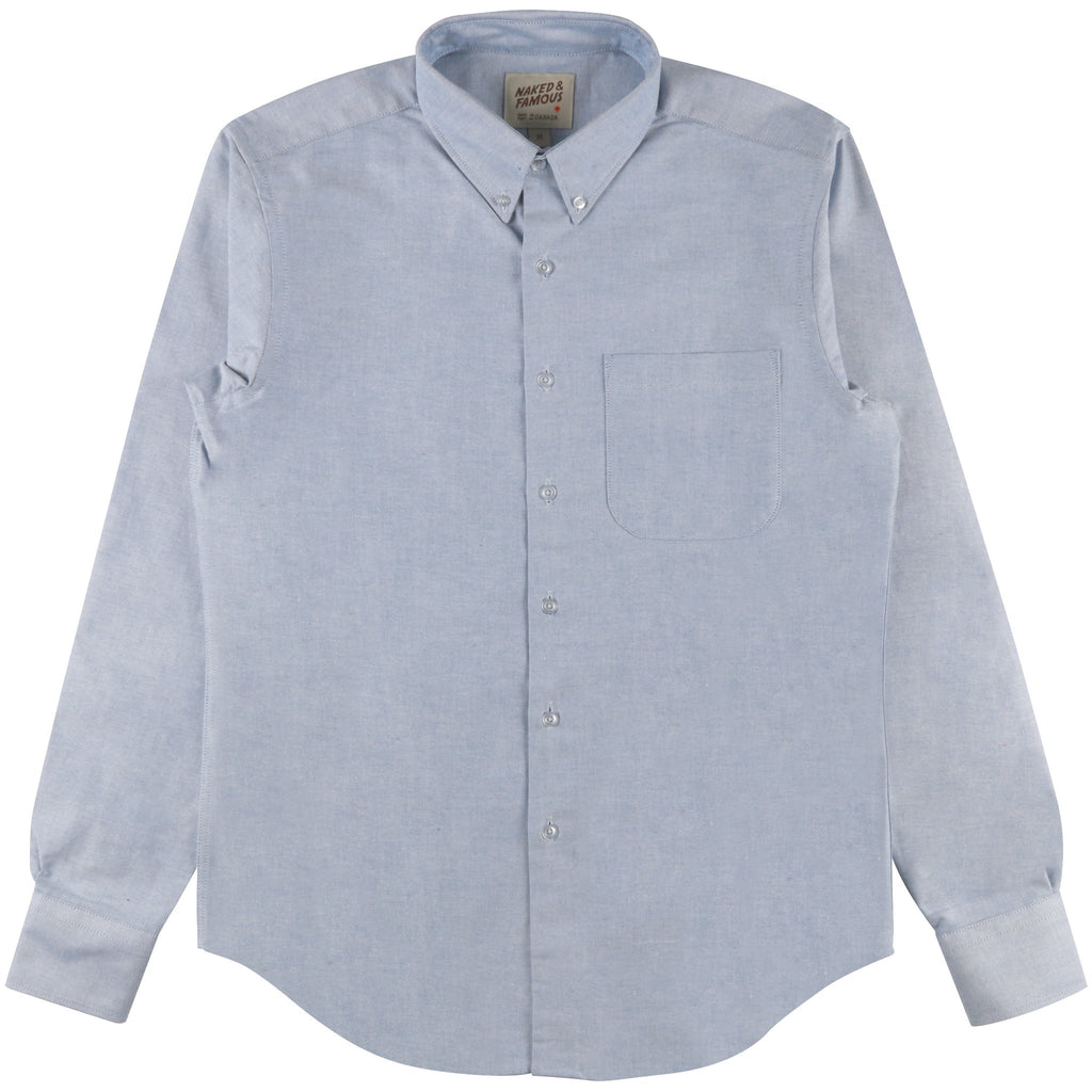 Regular Shirt - Blue Oxford