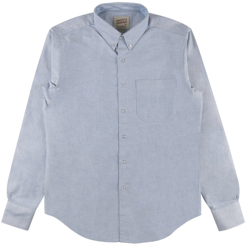 Regular Shirt - Blue Oxford | Naked & Famous Denim