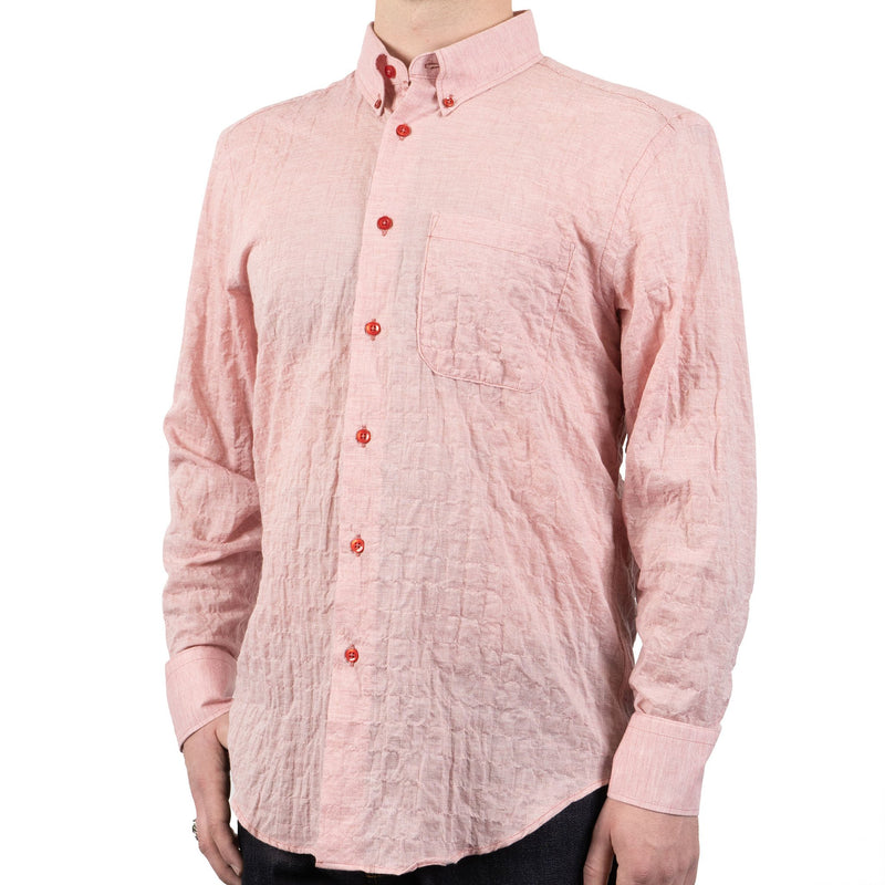 Easy Shirt - Organic Lawn - Red - side shot