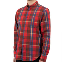 Easy Shirt - Summer Madras - Red - side shot