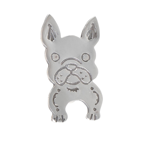 Pin Badge - French Bulldog - front