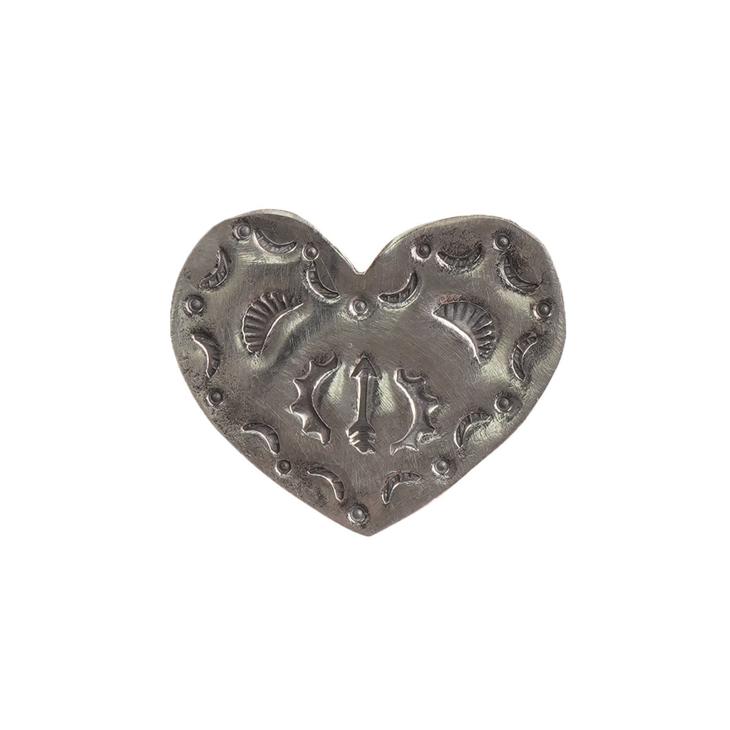 Pin Badge - Heart - FRONT