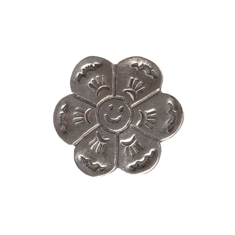 Pin Badge - Flower - FRONT