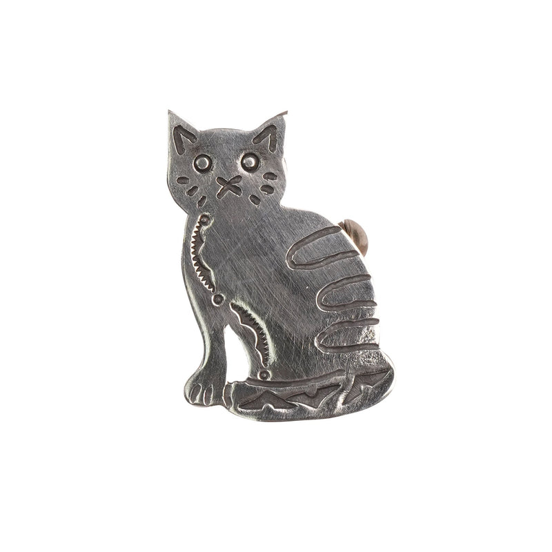 Pin Badge - Cat - FRONT