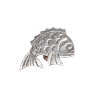 Pin Badge - Lucky Fish - FRONT
