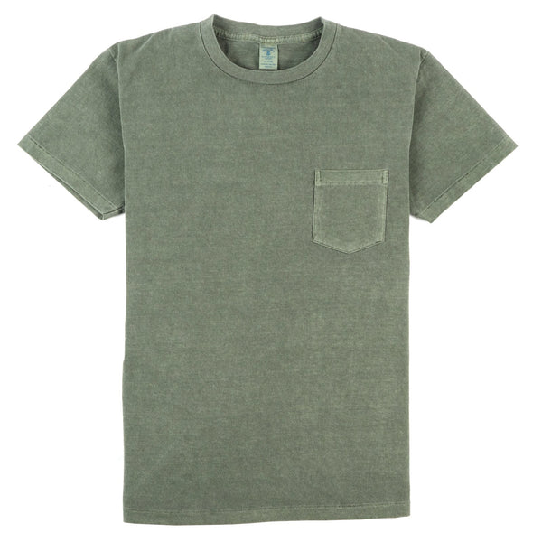Pigment Dyed Pocket Tee - Cactus