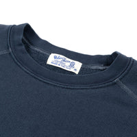 Pigment Dyed S/S Freedom Sweat - Navy