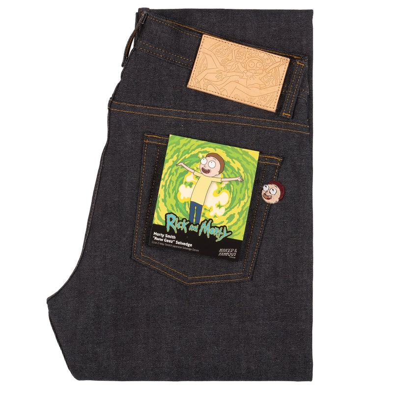 "Weird Guy - Morty Smith ""Aww Geez"" Selvedge 