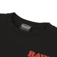 Raw Girl Series 1 SS Pocket T-Shirt - Black