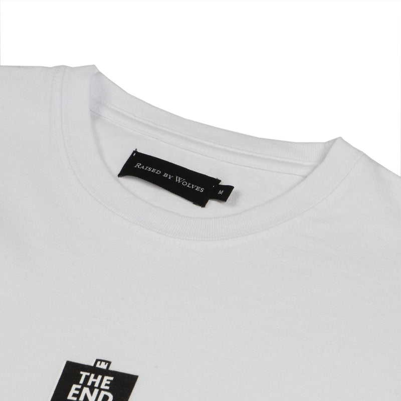 RBWF20505 - The End Is Here Tee - White