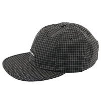 Gridstop 6 Panel Cap - Black - MAIN