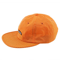 Gridstop 6 Panel Cap - Burnt Orange - MAIN