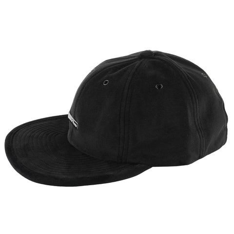 Velvet 6 Panel Cap - Black - MAIN