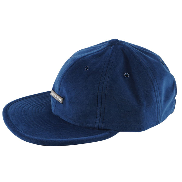 Velvet 6 Panel Cap - Indigo - MAIN