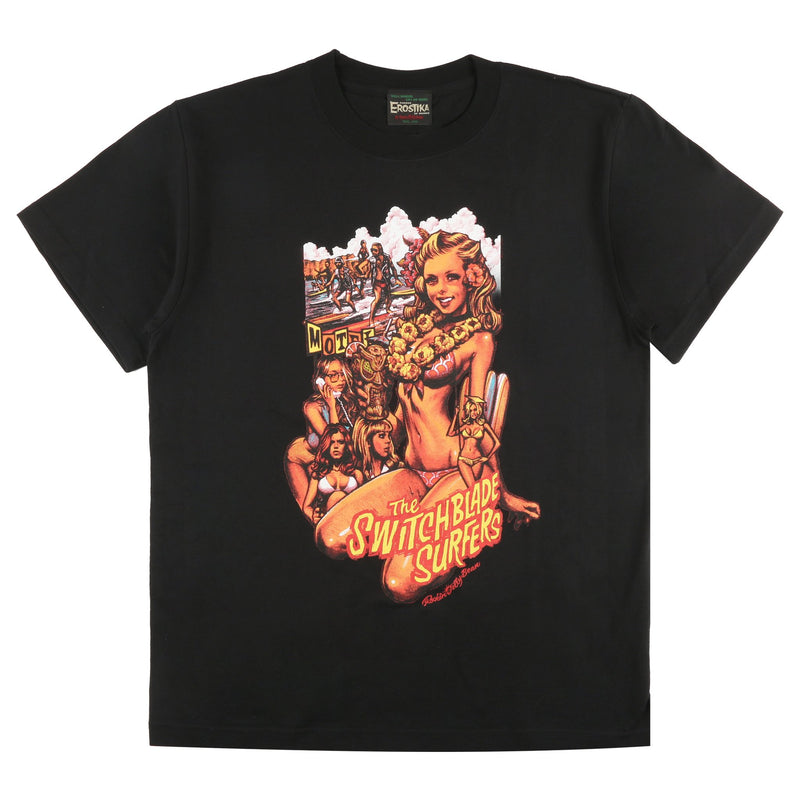 "SBST-01 - ""The Switchblade Surfers"" T-Shirt - Noir"