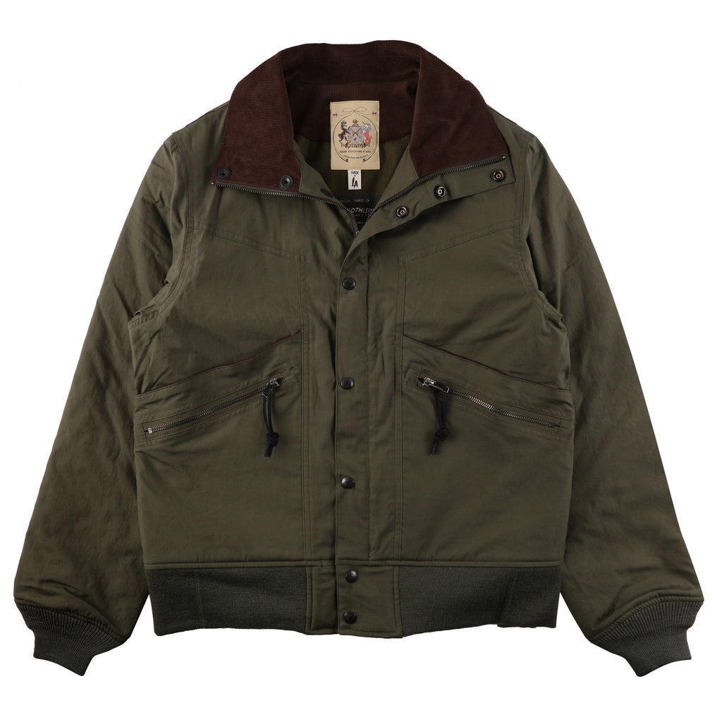 Monitaly Short Field Jacket - Vancloth Oxford