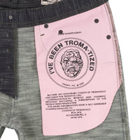 Weird Guy - Toxic Avenger Deformed Denim - pocket bag