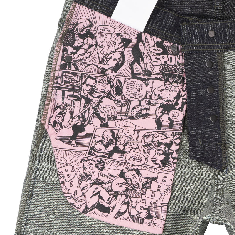 Easy Guy - Toxic Avenger Deformed Denim - pocket bag