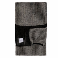 Ragg Wool Scarf - Grey Tweed | Upstate Stock
