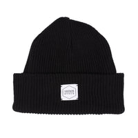 100% Eco Cotton Watchcap - Black