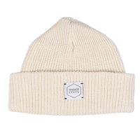 100% Eco Cotton Watchcap - Ecru