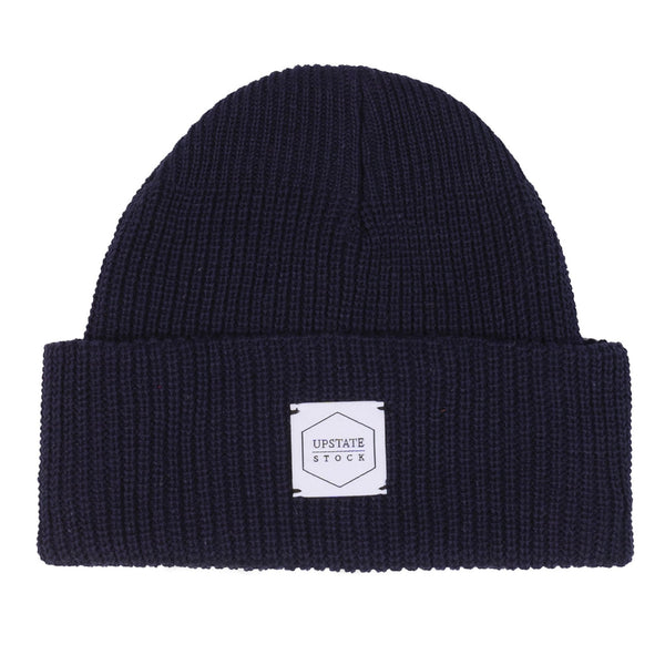 100% Eco Cotton Watchcap - Navy