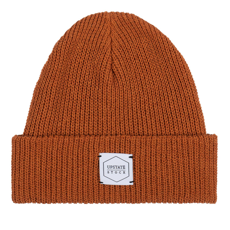 100% Eco Cotton Watchcap - Ochre