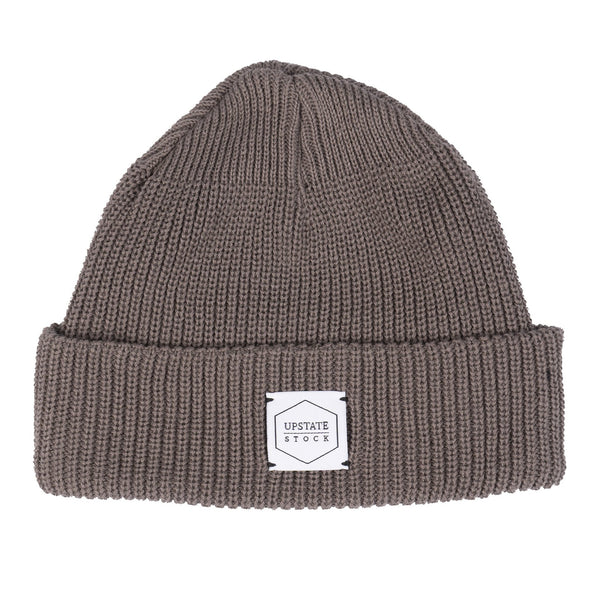 100% Eco Cotton Watchcap - Steel Grey