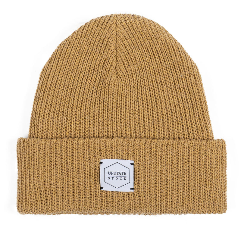 100% Eco Cotton Watchcap - Straw