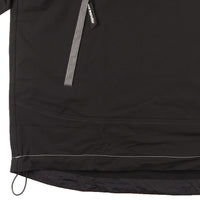 AndWander Nylon Double Cloth Hoodie - Black - waistband