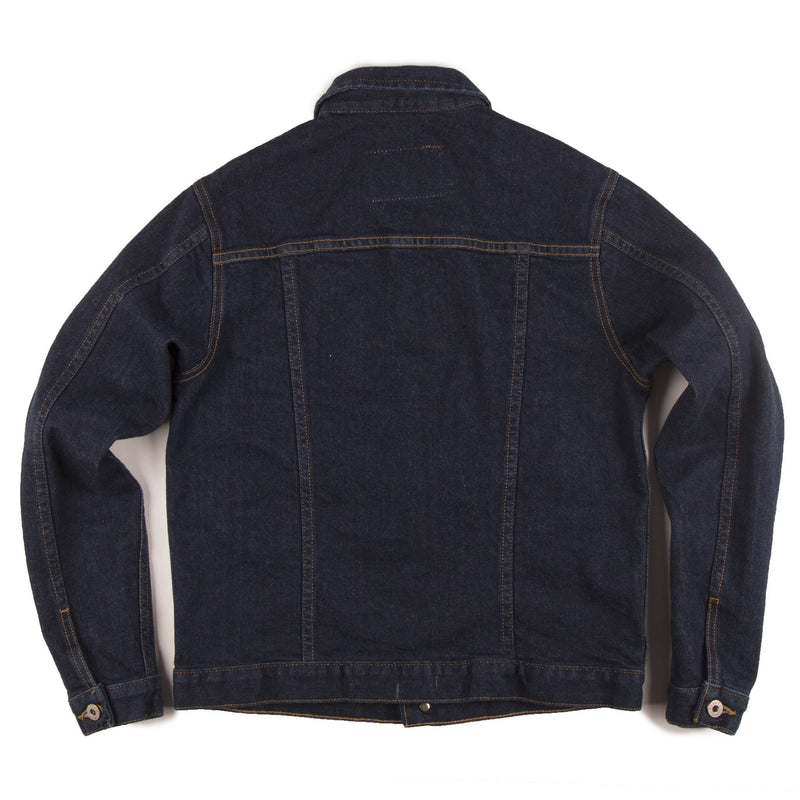 Women's - Denim Jacket - 13oz Indigo Stretch Denim