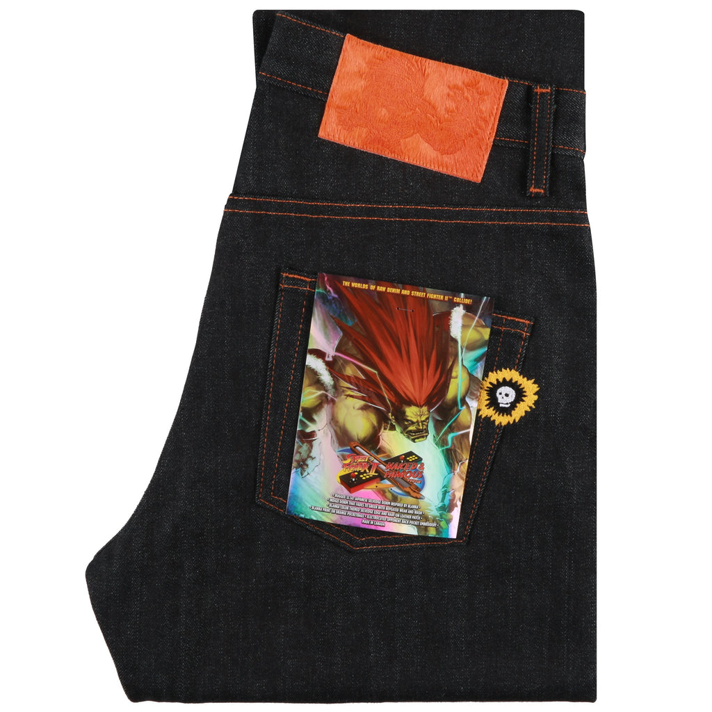 "Super Guy - Blanka ""Electric Surge"" Selvedge"
