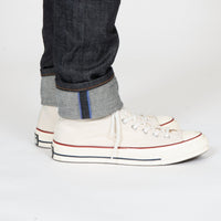 Easy Guy - Blue Core Selvedge - cuff shot