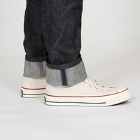 Weird Guy - Blue Core Selvedge - cuff shot