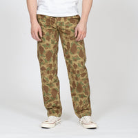 Work Pant - Double Sided Camo - Green - front shot